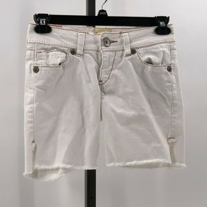 marlow vintage original jean shorts embroidered 26